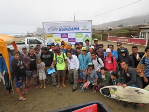 "4ta fecha Circuito de surf ""Sumbawa Verano 2013″"