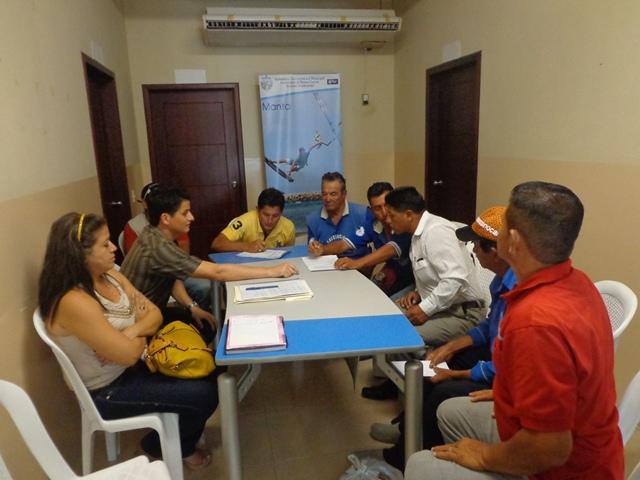 """Reunión para crear el comité de para el """"Programa para la gestión integral de desechos sólidos"""""""