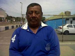 Aurelio Pilay socio y comerciante de la Asociación 15 de Junio