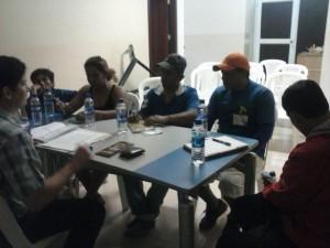 Reunión con el comité de Programa de gestión Integral de Desechos Sólidos (PGIDS)