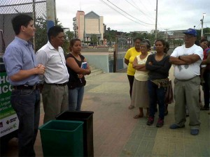 Segunda charla dirigida a las Asociaciones de los Comerciantes de la playa El Murciélago