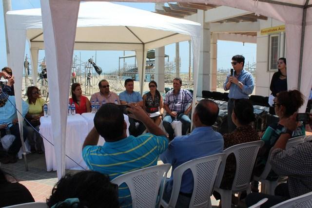 La entrega del Programa para la Gestión Integral de Desechos Sólidos (PGIDS) – Playa El Murciélago
