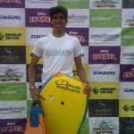 Joseph Mora Competidor de la Categoría BodyBoard