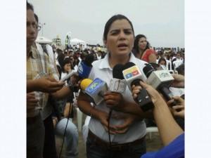 Ministra de Ambiente Lorena Tapia