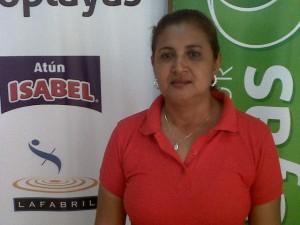 Lcda. Maribel Lago Reyes Directora de la institución.