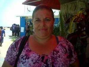 Ángela Rivas madre de familia de la Unidad Educativa