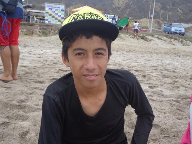 Michael Palacios, categoría BodyBoard