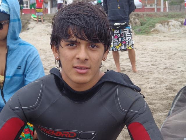 Ganador del 3er lugar Pedro Alcívar