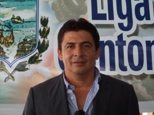 Javier Macías, presidente del Directorio de Liga Cantonal de Manta