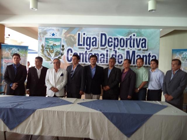 Posesión de Directorio de Liga Cantonal de Manta