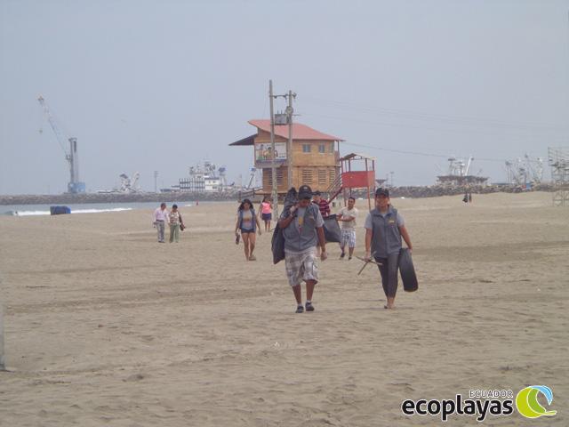 El cuidado de las playas depende de todos