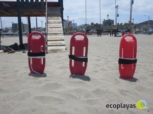 Playa el Murciélago cuenta con rescatistas