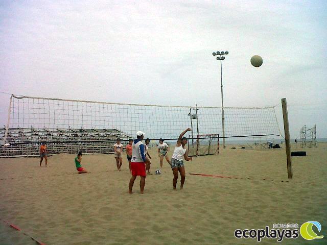 Cursos de voleibol en la playa