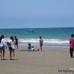 La playa, un encanto para los turistas