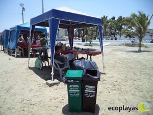 Se mantiene el mensaje de limpieza en playa El Murciélago