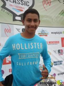 Brian Molina Ganador DK y Junior