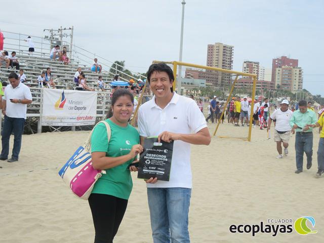 Viceministro, yo cuido las playas