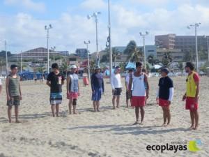 Inició curso de Salvavidas en la playa El Murciélago