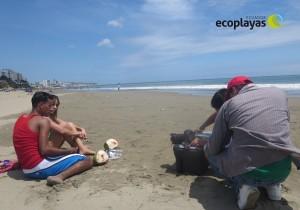 Se realizó grabación del primer spot para campaña masiva de educación para el buen uso de las playas
