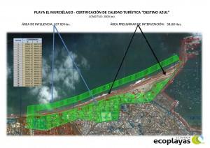 Playa El Murcielago area de influencia e intervencion