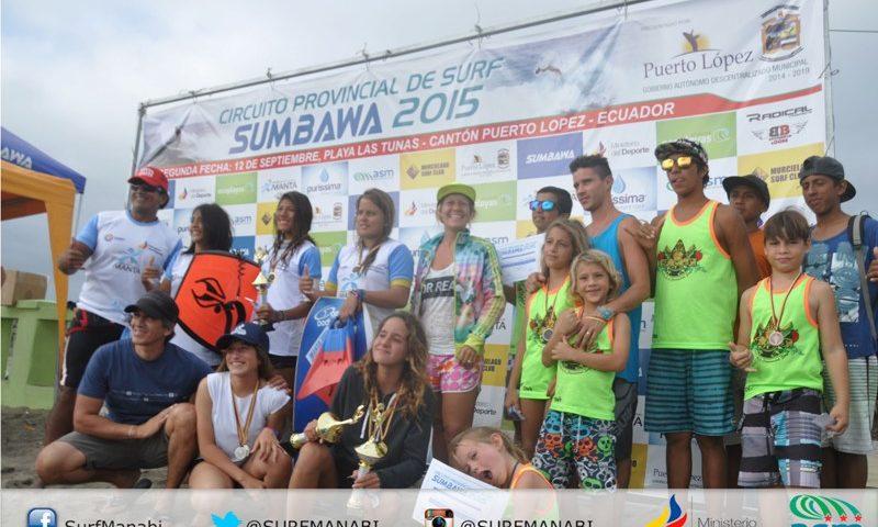 """Finaliza la 2da fecha del provincial de surf """"SUMBAWA 2015"""""""