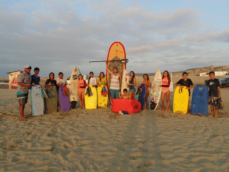 El sur de Manabi tambien se alista para provincial de surf